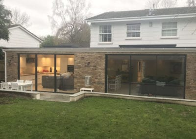 double roof extension