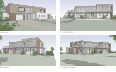 Epsom, Surrey. New Build Residential Home Overlooking the Epsom Downs