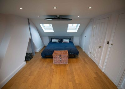Dormer loft conversion into one bedroom and en-suite at Seven Kings, Ilford, London