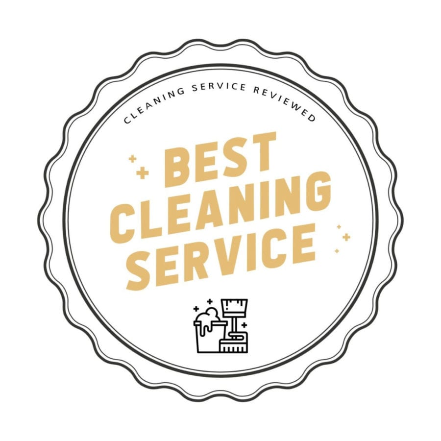 Best cleaning service badge