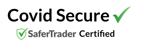 Certified-CovidSecure-SaferTrader badge